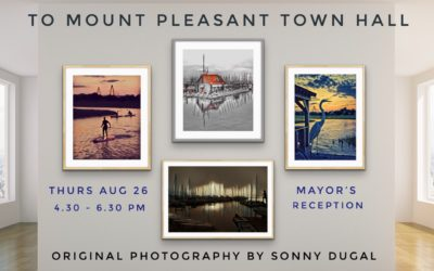 Mount Pleasant Town Hall Show Opening